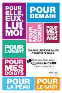"""""""On a tous une bonne raison d'arrêter de fumer"""" - Campagne INPES 2013"""