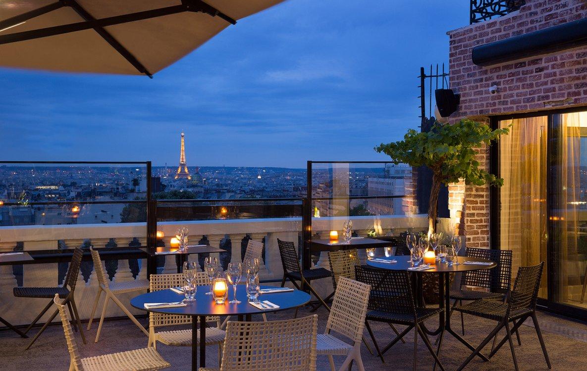 Terrass Hotel - Restaurant