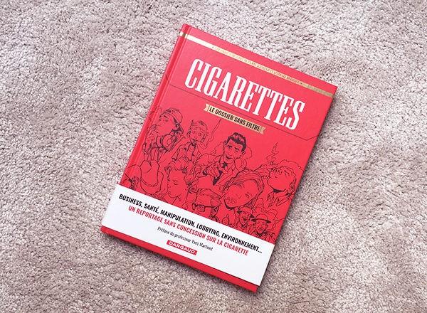 Bande dessinee Cigarettes Dossier Sans Filtre_Dargaud_CNCT_DeclicAntiClope